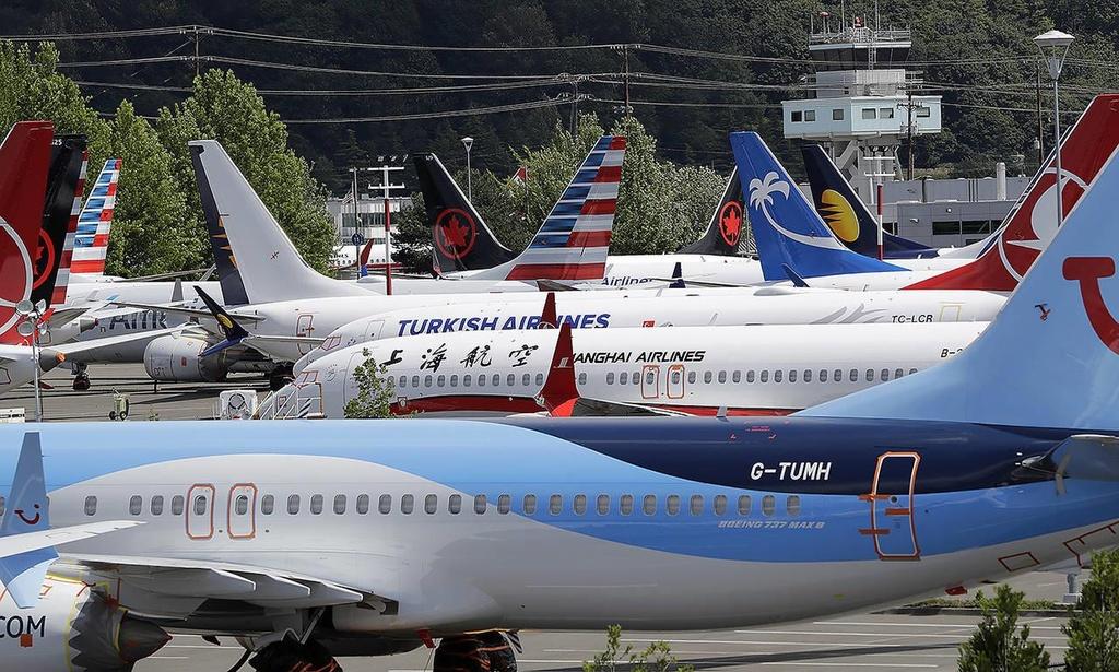 Boeing 737 Max 'lan ap' tai bai do oto anh 3