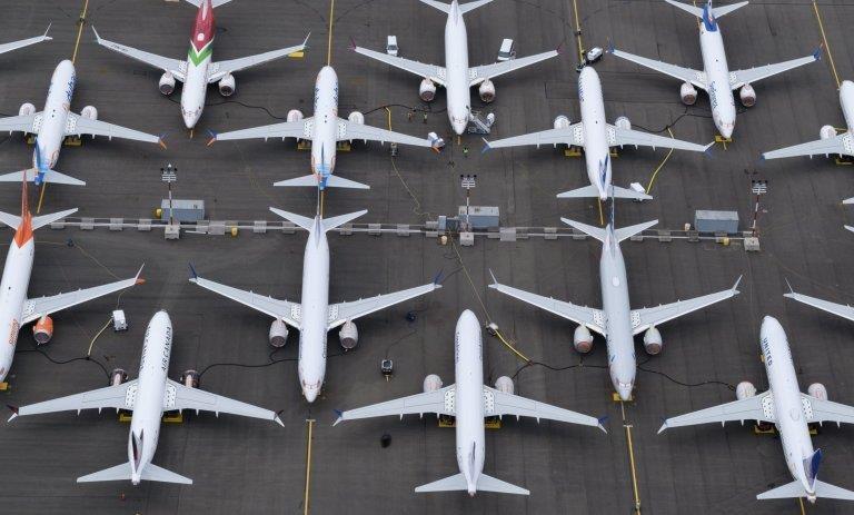 Boeing 737 Max 'lan ap' tai bai do oto anh 2