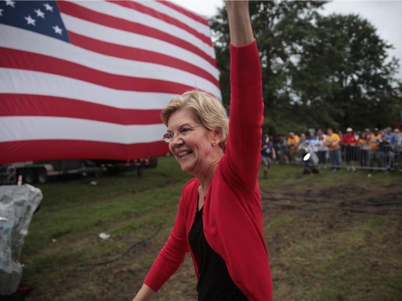 Nu ung cu vien tong thong My Elizabeth Warren giau co nao? hinh anh 2