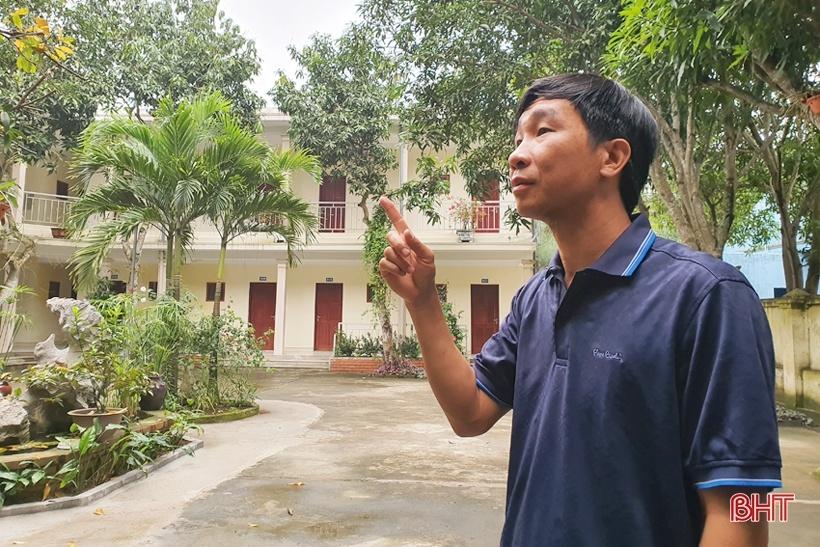 Anh Nguyễn Xuân Phúc luôn là người đi đầu trong các chương trình từ thiện ở huyện Nghi Xuân (Hà Tĩnh). Ảnh: BHT.