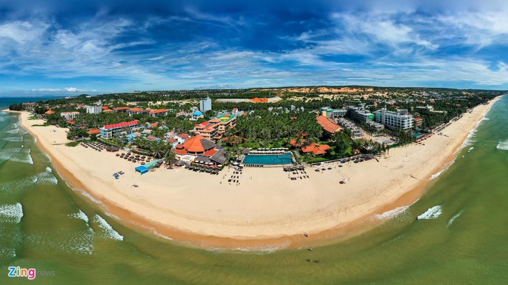 Hang loat resort dong cua im lim o Mui Ne anh 8