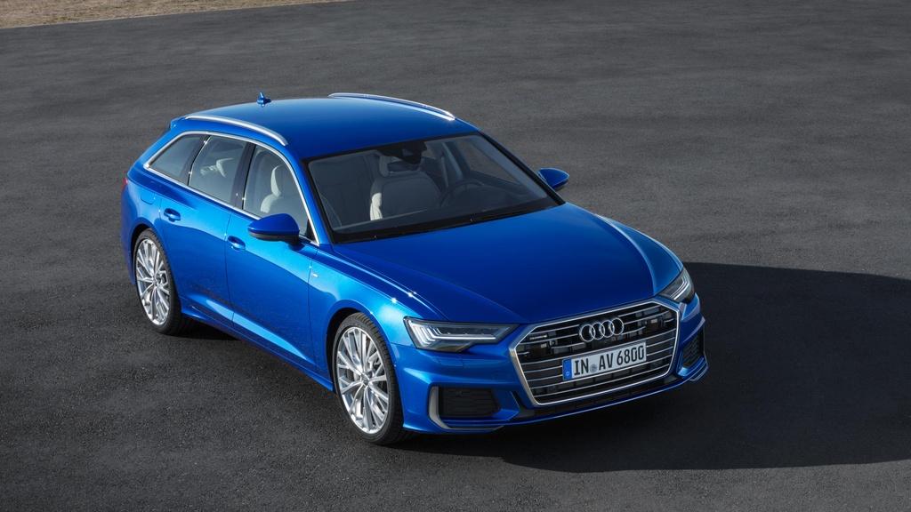Audi A6 Avant 2019 ra mat, doi dau BMW 5 Series Touring hinh anh 2