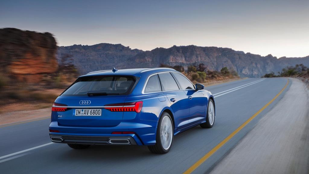 Audi A6 Avant 2019 ra mat, doi dau BMW 5 Series Touring hinh anh 4