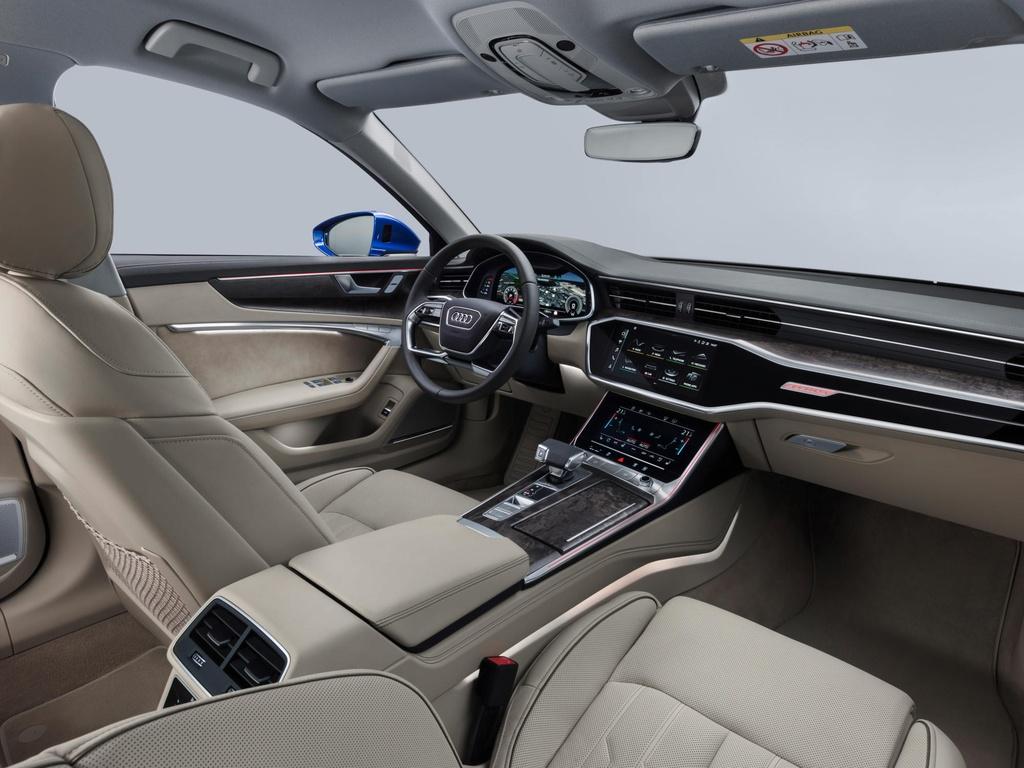 Audi A6 Avant 2019 ra mat, doi dau BMW 5 Series Touring hinh anh 5