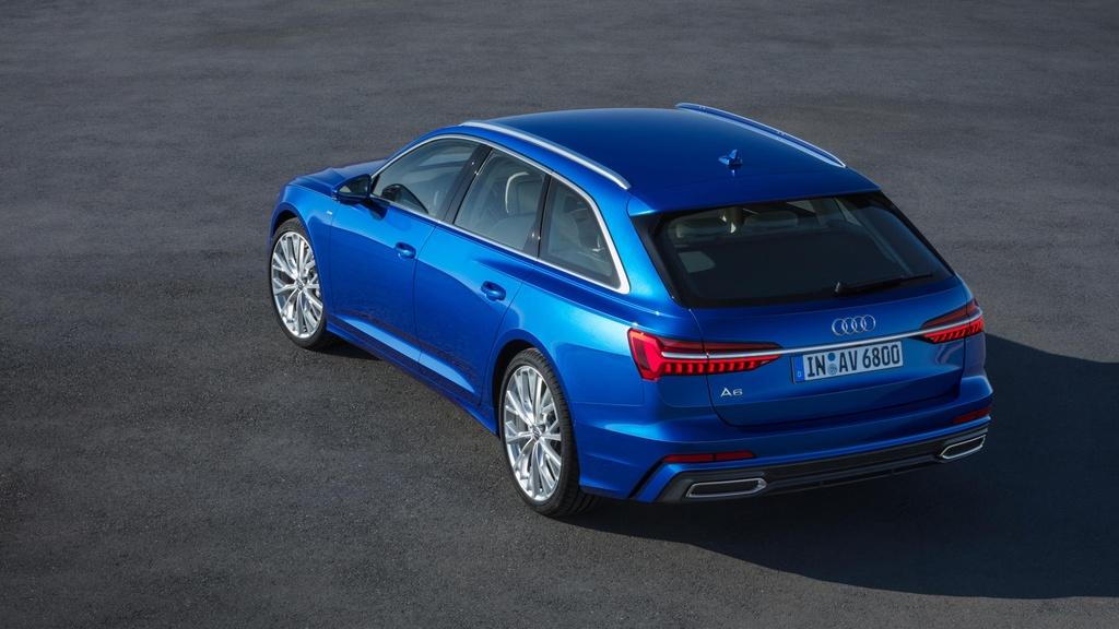 Audi A6 Avant 2019 ra mat, doi dau BMW 5 Series Touring hinh anh 8