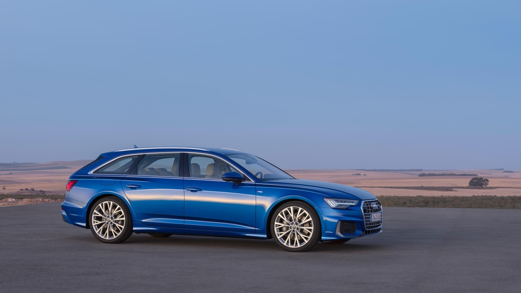 Audi A6 Avant 2019 ra mat, doi dau BMW 5 Series Touring hinh anh 9