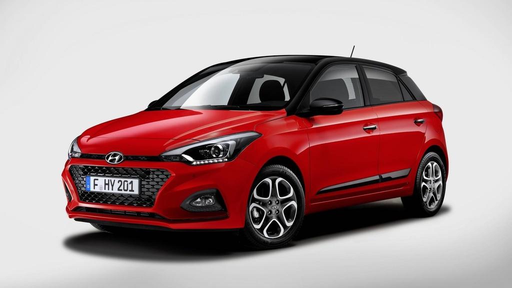 Hyundai nang cap i20, canh tranh Toyota Yaris hinh anh 1