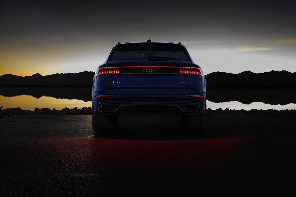 Audi Q8 2019 ban tai My,  dung dong co moi anh 2