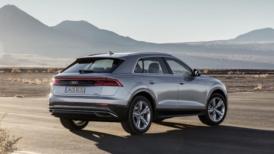 Audi Q8 2019 ban tai My,  dung dong co moi anh 1