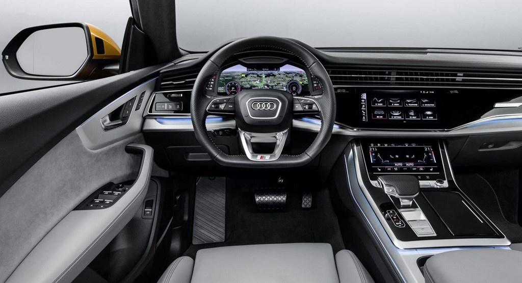 Audi Q8 2019 ban tai My,  dung dong co moi anh 8