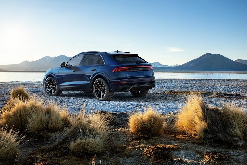 Audi Q8 2019 ban tai My,  dung dong co moi anh 5