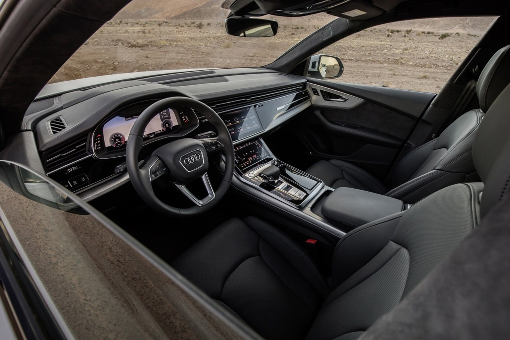 Audi Q8 2019 ban tai My,  dung dong co moi anh 4
