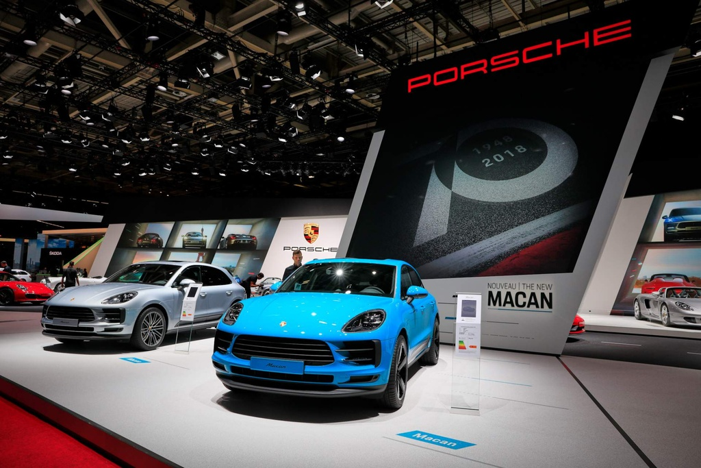 Porsche mang SUV ban chay nhat den Paris Motor Show hinh anh 1