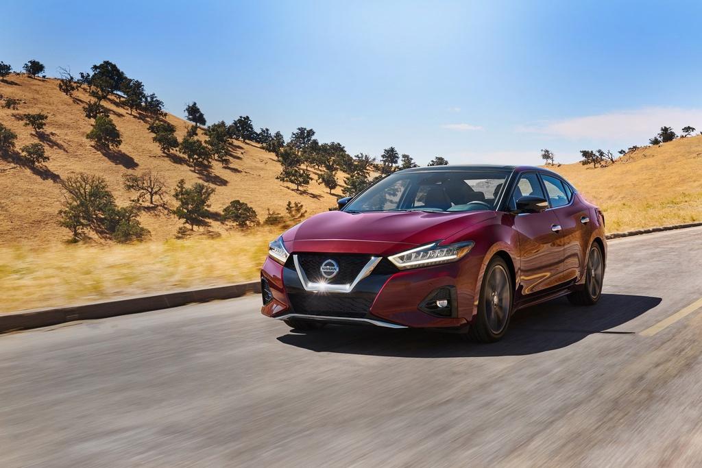 Sedan co lon Nissan Maxima 2019 ra mat, goc canh va hien dai hon hinh anh 2