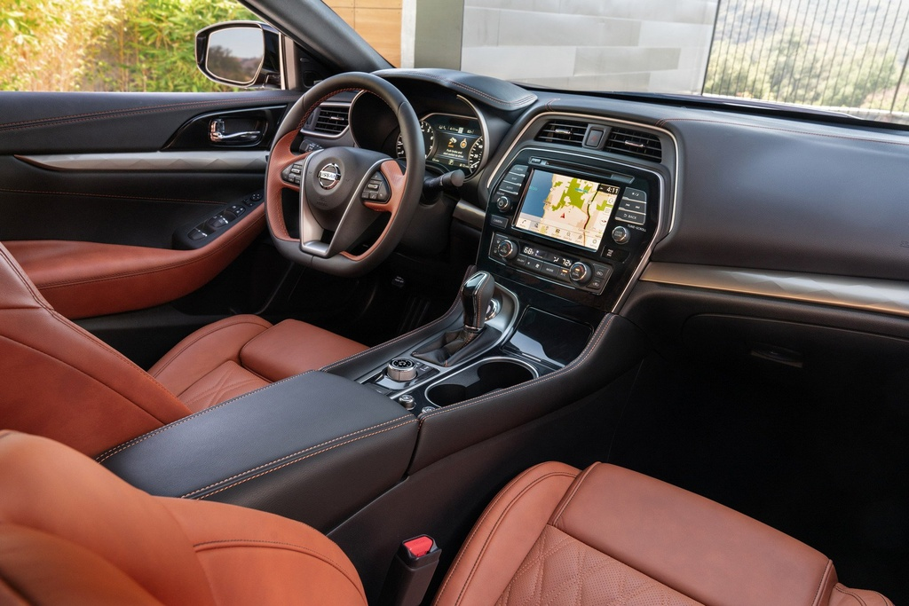 Sedan co lon Nissan Maxima 2019 ra mat, goc canh va hien dai hon hinh anh 5