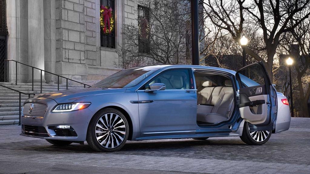 Ra mat Lincoln Continental ban gioi han 80 chiec anh 1