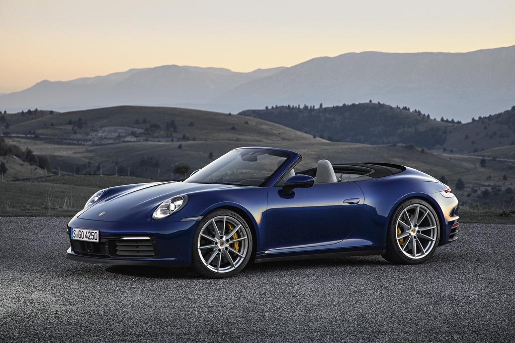 Porsche 911 Cabriolet 2020 ra mat, manh 443 ma luc hinh anh 1