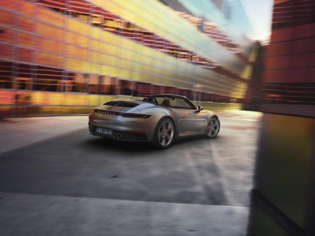 Porsche 911 Cabriolet 2020 ra mat, manh 443 ma luc hinh anh 10