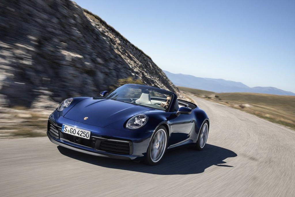 Porsche 911 Cabriolet 2020 ra mat, manh 443 ma luc hinh anh 3