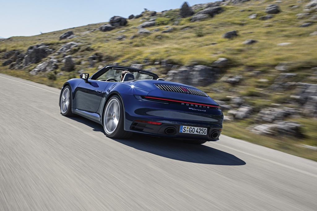 Porsche 911 Cabriolet 2020 ra mat, manh 443 ma luc hinh anh 4