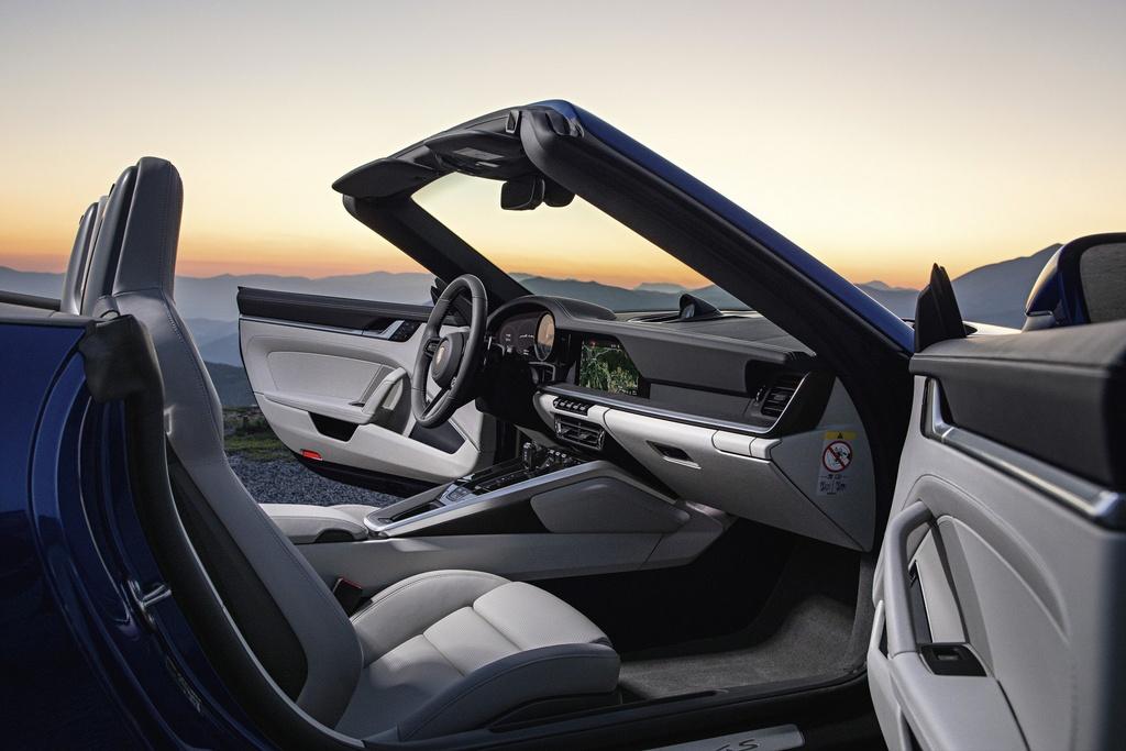 Porsche 911 Cabriolet 2020 ra mat, manh 443 ma luc hinh anh 5