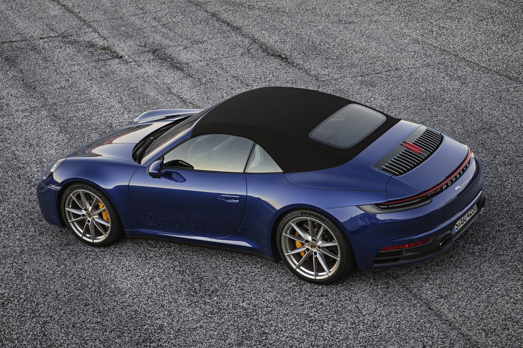 Porsche 911 Cabriolet 2020 ra mat, manh 443 ma luc hinh anh 6