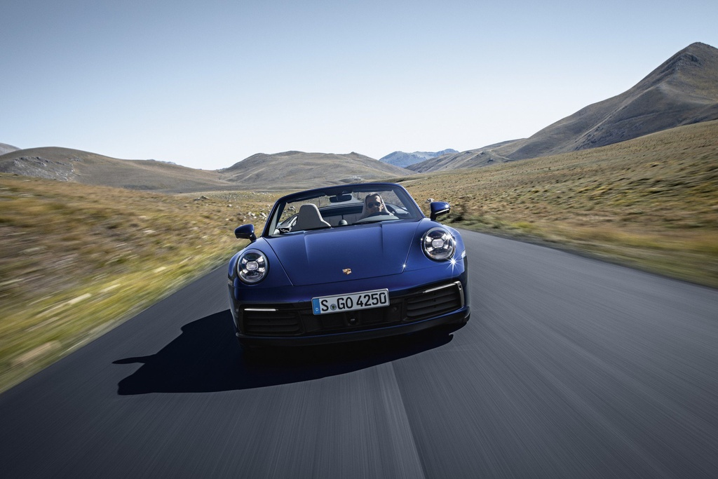 Porsche 911 Cabriolet 2020 ra mat, manh 443 ma luc hinh anh 7