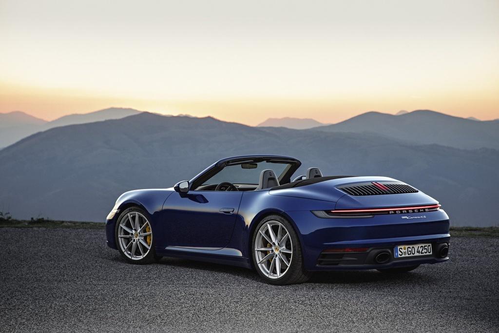 Porsche 911 Cabriolet 2020 ra mat, manh 443 ma luc hinh anh 9
