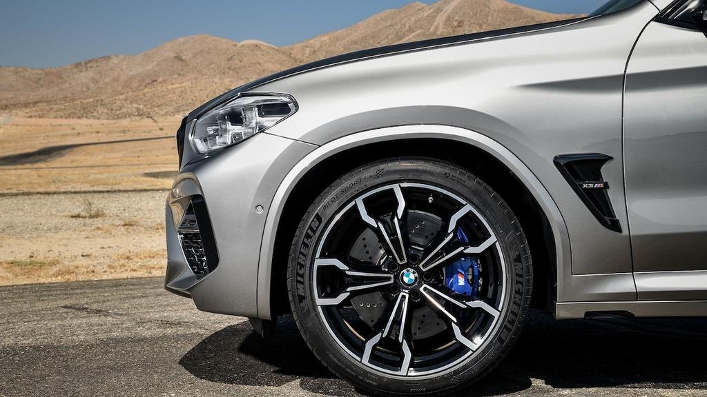 ban hieu suat cao cua BMW X3 M va X4 M moi anh 1