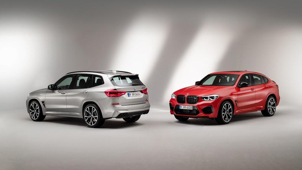 ban hieu suat cao cua BMW X3 M va X4 M moi anh 2