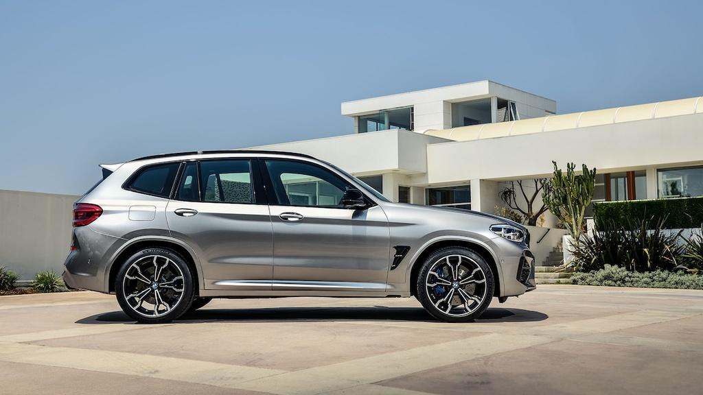 ban hieu suat cao cua BMW X3 M va X4 M moi anh 13