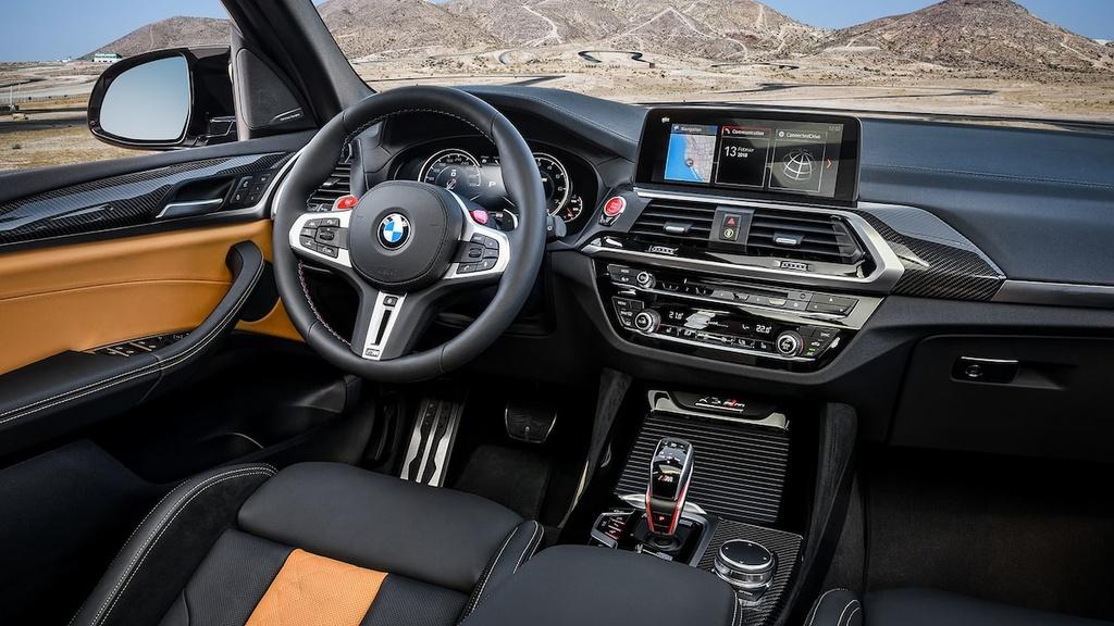 ban hieu suat cao cua BMW X3 M va X4 M moi anh 14