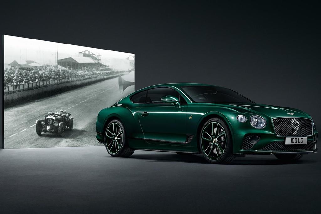 Bentley Continental GT ban ky niem 100 nam, san xuat dung 100 xe hinh anh 1