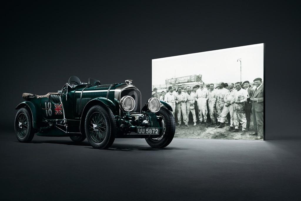 Bentley Continental GT ban ky niem 100 nam, san xuat dung 100 xe hinh anh 2