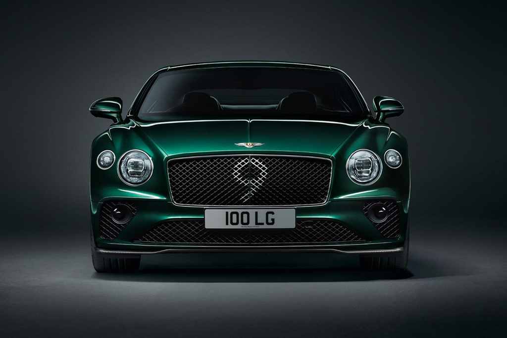 Bentley Continental GT ban ky niem 100 nam, san xuat dung 100 xe hinh anh 3