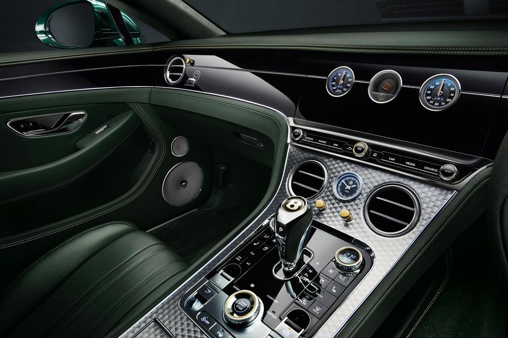 Bentley Continental GT ban ky niem 100 nam, san xuat dung 100 xe hinh anh 5