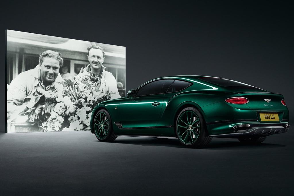 Bentley Continental GT ban ky niem 100 nam, san xuat dung 100 xe hinh anh 7