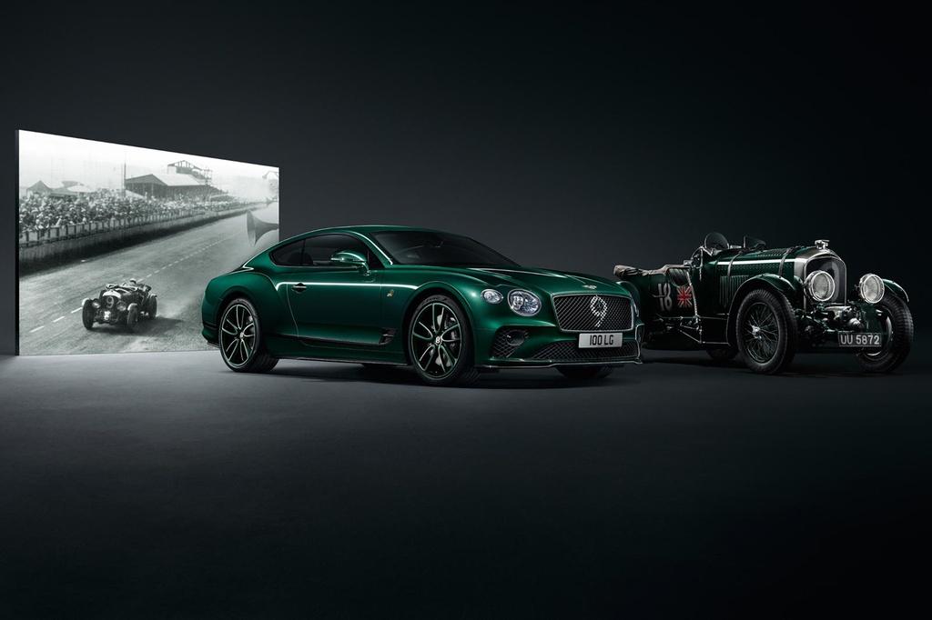Bentley Continental GT ban ky niem 100 nam, san xuat dung 100 xe hinh anh 8
