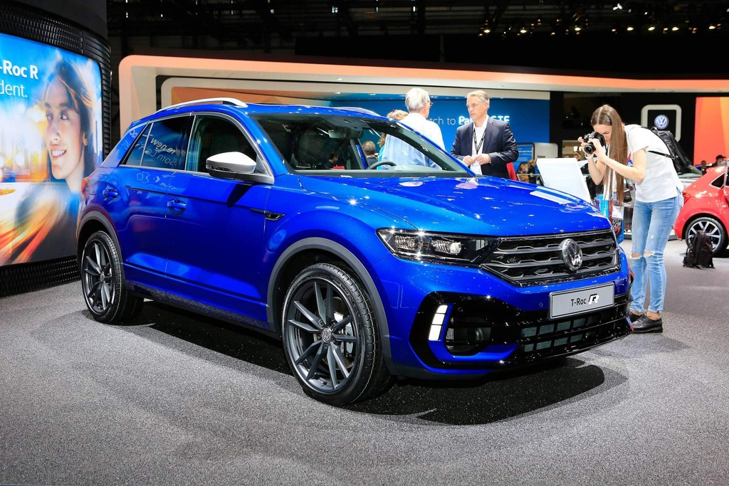 SUV the thao hieu suat cao Volkswagen T-Roc R trinh lang hinh anh 1