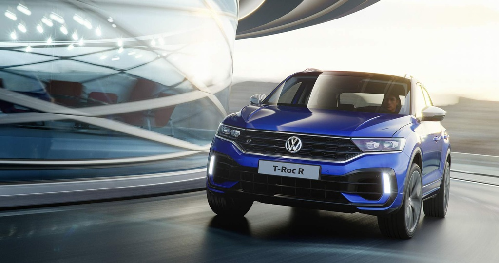 SUV the thao hieu suat cao Volkswagen T-Roc R trinh lang hinh anh 2