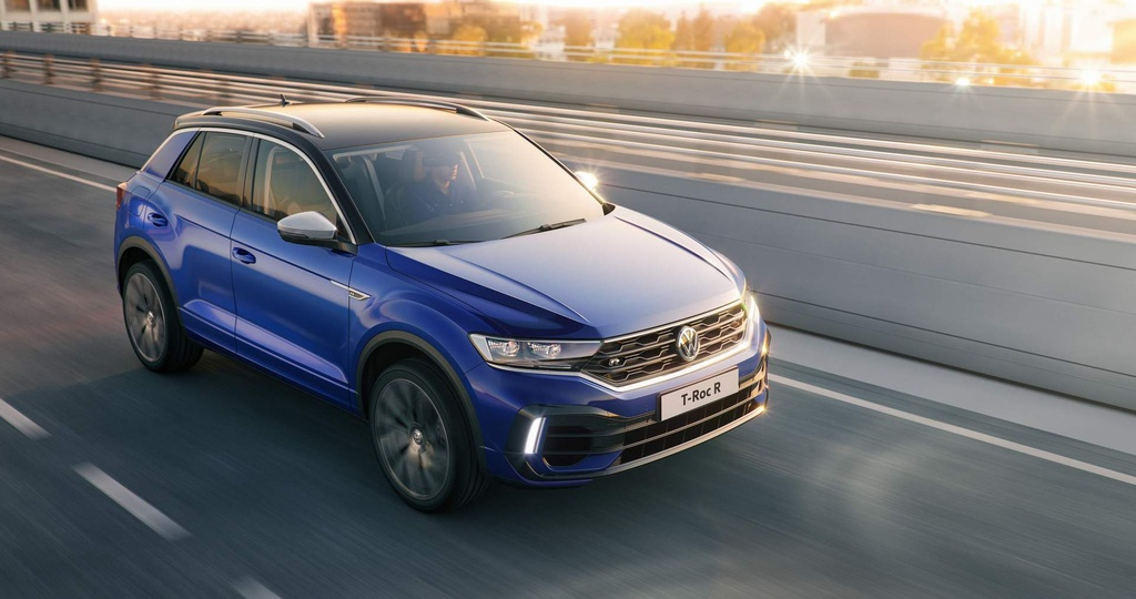 SUV the thao hieu suat cao Volkswagen T-Roc R trinh lang hinh anh 8