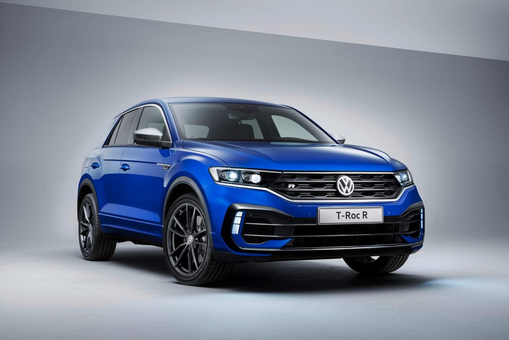 SUV the thao hieu suat cao Volkswagen T-Roc R trinh lang hinh anh 9