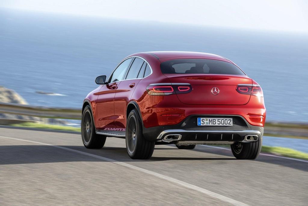 Mercedes-Benz GLC Coupe 2020 ra mat, the thao va manh me hon hinh anh 3