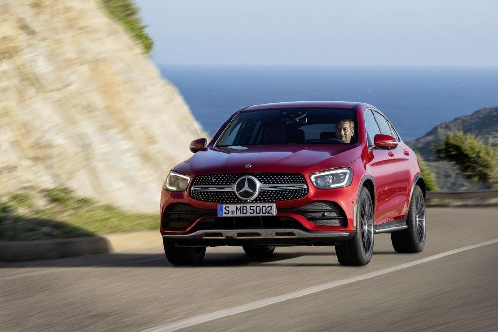 Mercedes-Benz GLC Coupe 2020 ra mat, the thao va manh me hon hinh anh 6