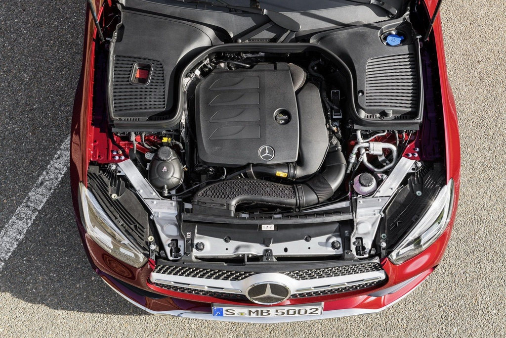 Mercedes-Benz GLC Coupe 2020 ra mat, the thao va manh me hon hinh anh 7