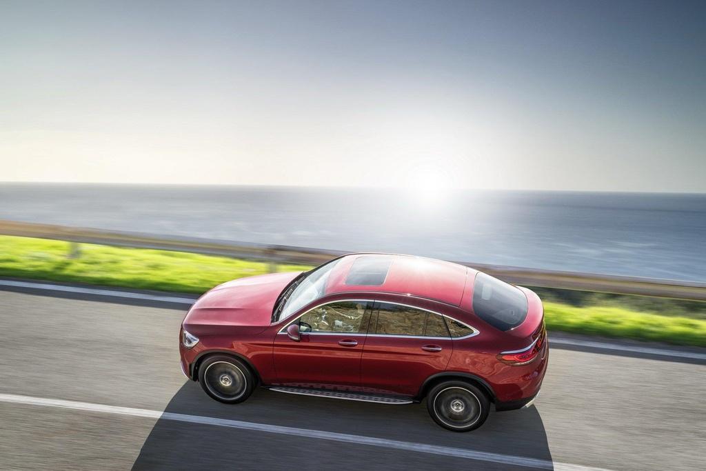 Mercedes-Benz GLC Coupe 2020 ra mat, the thao va manh me hon hinh anh 8