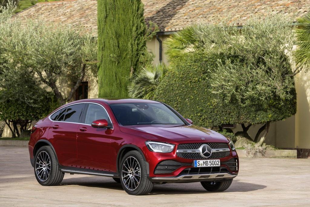 Mercedes-Benz GLC Coupe 2020 ra mat, the thao va manh me hon hinh anh 9