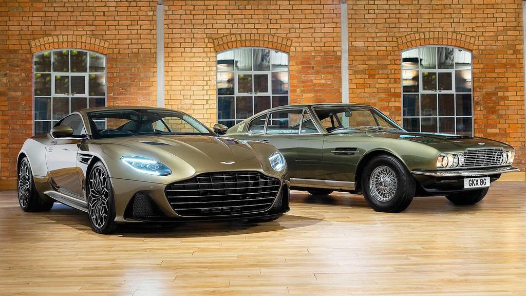 Aston Martin DBS Superleggera ban Diep vien 007 anh 1
