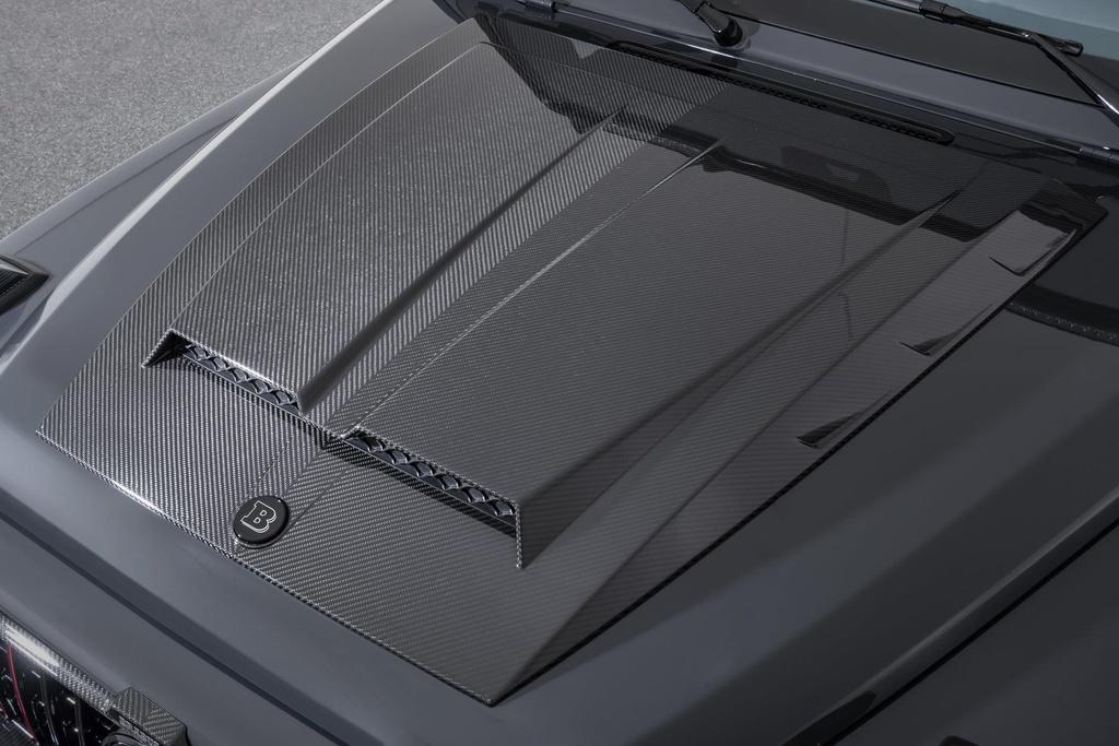 Bo doi Mercedes-AMG G63 cuc ngau cua Brabus, san xuat dung 20 chiec hinh anh 4