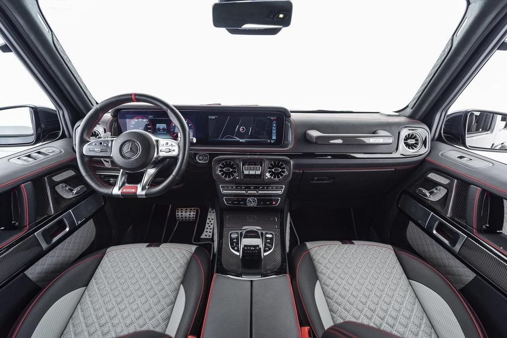 Bo doi Mercedes-AMG G63 cuc ngau cua Brabus, san xuat dung 20 chiec hinh anh 6